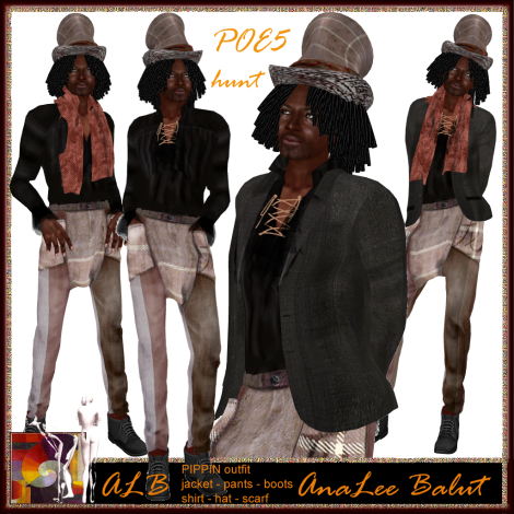 ALB PIPPIN outfit MEN POE5 2012 special by AnaLee Balut - ALB DREAM FASHION