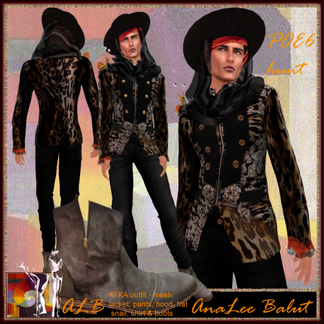 ALB ATKA outfit included boots POE6 hunt