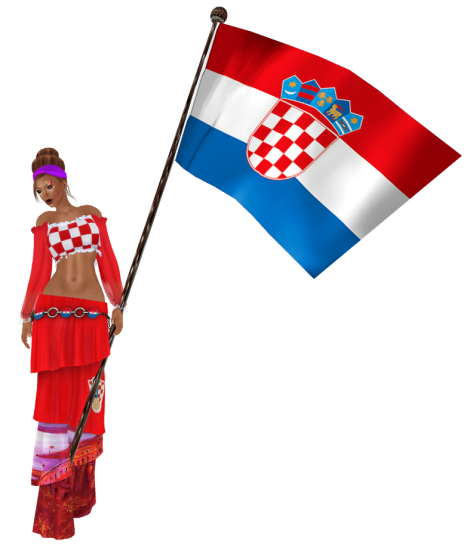 Croatia soccer football world cup 2014 outfit by AnaLee Balut