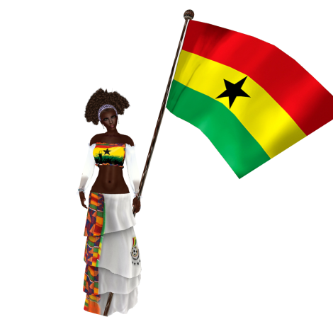 Ghana soccer football world cup 2014 outfit by AnaLee Balut
