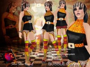 ShuShu BUBBLE GUM outfit 2