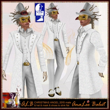 ALB CHRISTMAS ANGEL 2015 male outfit & shoes + more
