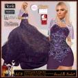 ALB VINTER gown & cloak lilac - SLink Maitreya Belleza