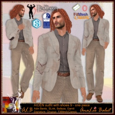 ALB AIDEN outfit w shoes 9 - SLink Belleza Signature FitMesh ...