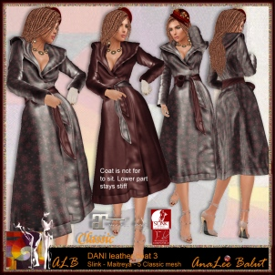 ALB DANI coat 3 - red & christmas